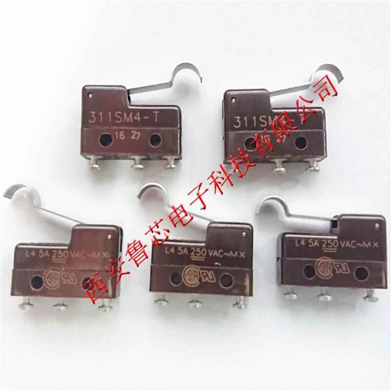 Micro interruttore 311SM4-T INTERRUTTORE AZIONE A SCATTO SPDT 5A 250 VMicro interruttore 311SM4-T INTERRUTTORE AZIONE A SCATTO SPDT 5A 250 V