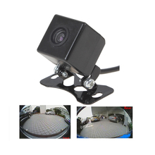 600L CCD HD 180 градусов Рыбий глаз автомобиля камера заднего/вид спереди широкоугольный вспять резервного копирования камера ночного видения парктроник