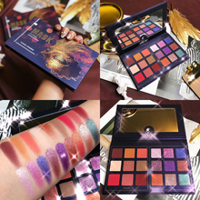 18 Colors Smoky Shimmer Matte Glitter Eyeshadow Palette Makeup Beauty Pallete Pigment Cosmetics Eye