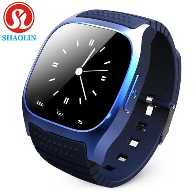 ШАОЛИНЬ Bluetooth Смарт Часы наручные Часы smartwatch с Набора SMS Напомнить Плеера Шагомер для Android Смартфонов Samsung