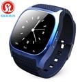 SHAOLIN smartwatch Bluetooth Relógio Inteligente Relógio de pulso com Dial SMS Lembrar Music Player Pedômetro para Android Smartphones Samsung