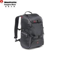 Manfrotto MA-BP-TRV Travel Camera Bag Portable Digital Camera Backpacks Laptop Tripod Carry Bag SLR Photography Accessories Bag