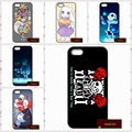 Papiro undertale sans doggo phone case para iphone 4 4s 5 5s 5c 6 6 s plus samsung galaxy s3 s4 mini s5 s6 note 2 3 4 s0356