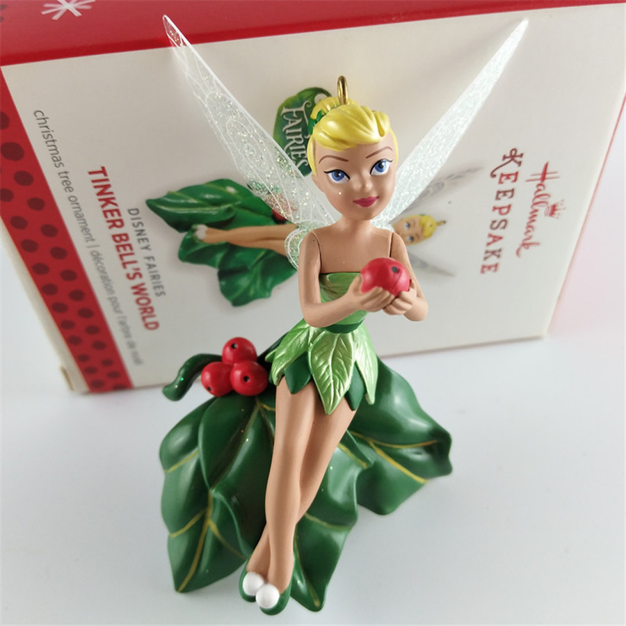 Original 1pcs Classic Tinker Bell Princess Tinkerbell FAIRY tinker bell's world Action Figure christmas tree ornament toys кеды tinker pro smart