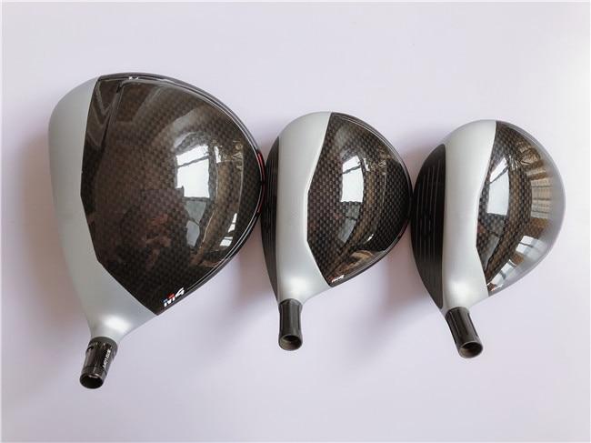 Brand New 3PCS M4 Wood Set M4 Golf Woods Golf Clubs M4 Driver + Fairway Woods FUBUKI TM-5 Graphite Shaft With Head Cover