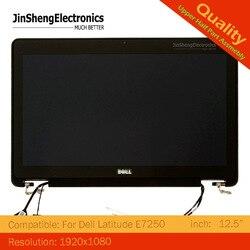 شاشة E7250 لـ Dell Latitude E7250 بشاشة 12.5 بوصة كاملة تعمل باللمس LCD مجموعة كاملة TVJPY
