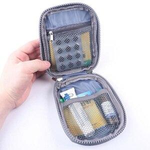 Image 2 - מיני אוקספורד בד חירום תיק ערכת עזרה הראשונה תיבת נסיעות, חיצוני, וכו 2 תאים פנימיים נסיעות