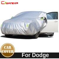 Cawanerl Car Cover Waterproof Sun Snow Rain Hail Dust Prevent Cotton Cover For Dodge Nitro Intrepid Neon Avenger Journey Caliber