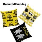Pug Banana Word Cushions Like House Polar Bear Pillows Childlike Lounger Lumbar Support Throw Pillow Cover Yellow Large Velvet
