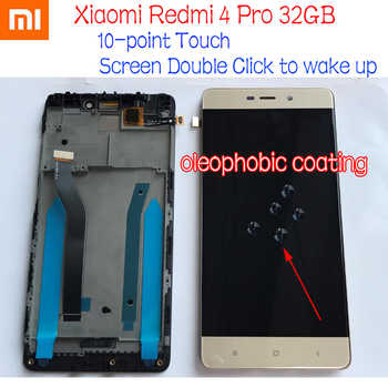 Best Working Original 10 point LCD Display Touch Panel Screen Digitizer Assembly with frame For Xiaomi Redmi 4 Pro ROM-32G - DISCOUNT ITEM  10% OFF All Category