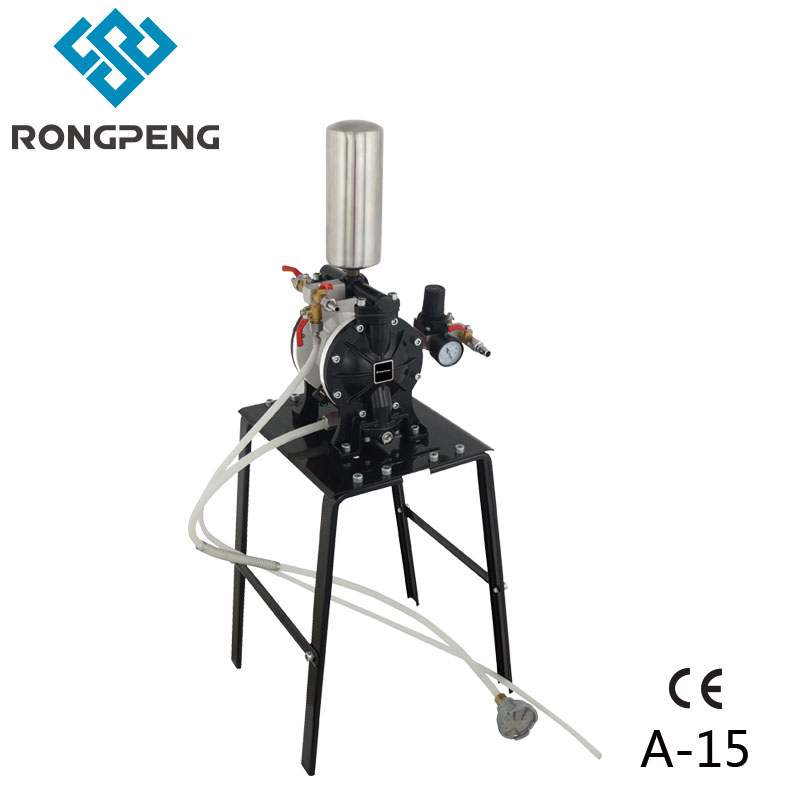 Rongpeng Air Powered Diaphragm Pump Transporting Paints Chemical Biotechnology Ceramics Medical Food Pheumatic Transfer Machine