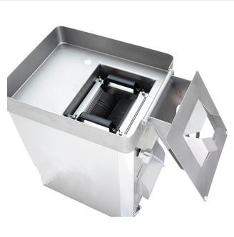500KG/H Commercial meat cutter Stainless steel large vertical slicing machine meat slicer shred dice with roller