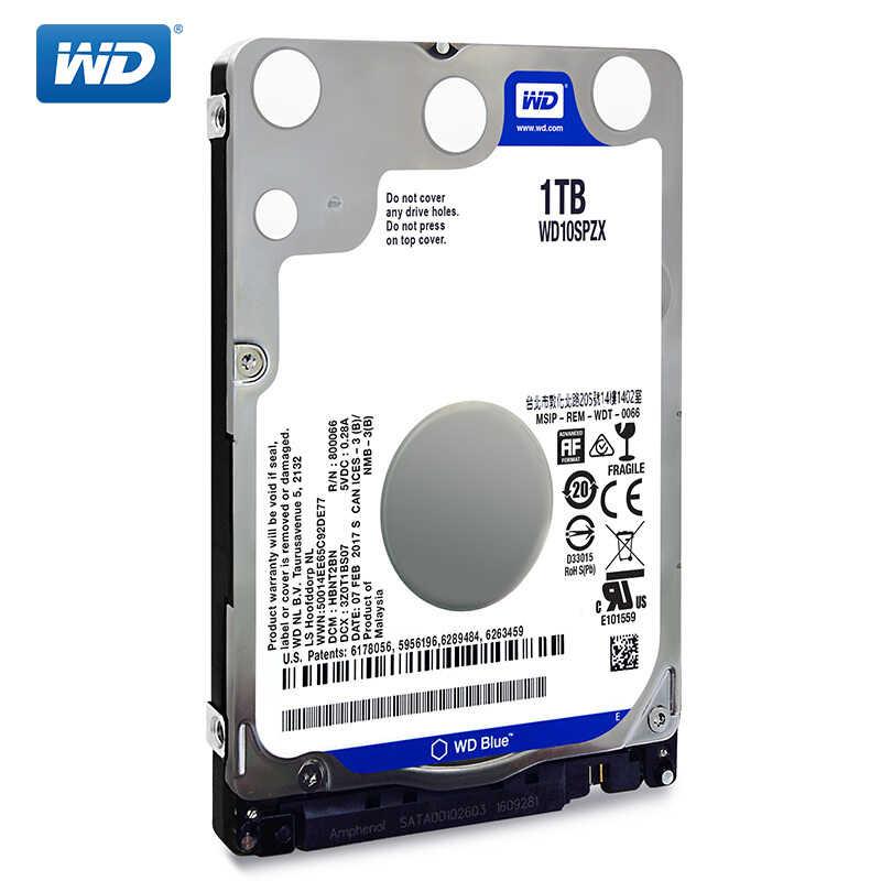 Wd Blue 1tb 2 5 Sata Iii Internal Hard Disk Drive 1000gb Hdd Hd Harddisk 6gb S 128m 7mm 5400 Rpm For Notebook Laptop Internal Hard Drives Aliexpress