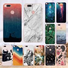 TPU Patterned Cases For Xiaomi Mi A1 Transparent Printing Dr