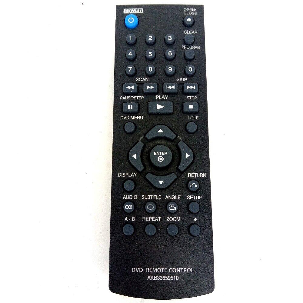 hot sale new for lg dvd player remote control akb33659510. Black Bedroom Furniture Sets. Home Design Ideas