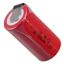 Самая низкая цена 1 шт SC батарея 1,2 v батареи перезаряжаемые 1500mAh nicd Батарея для электроинструментов akkumulator