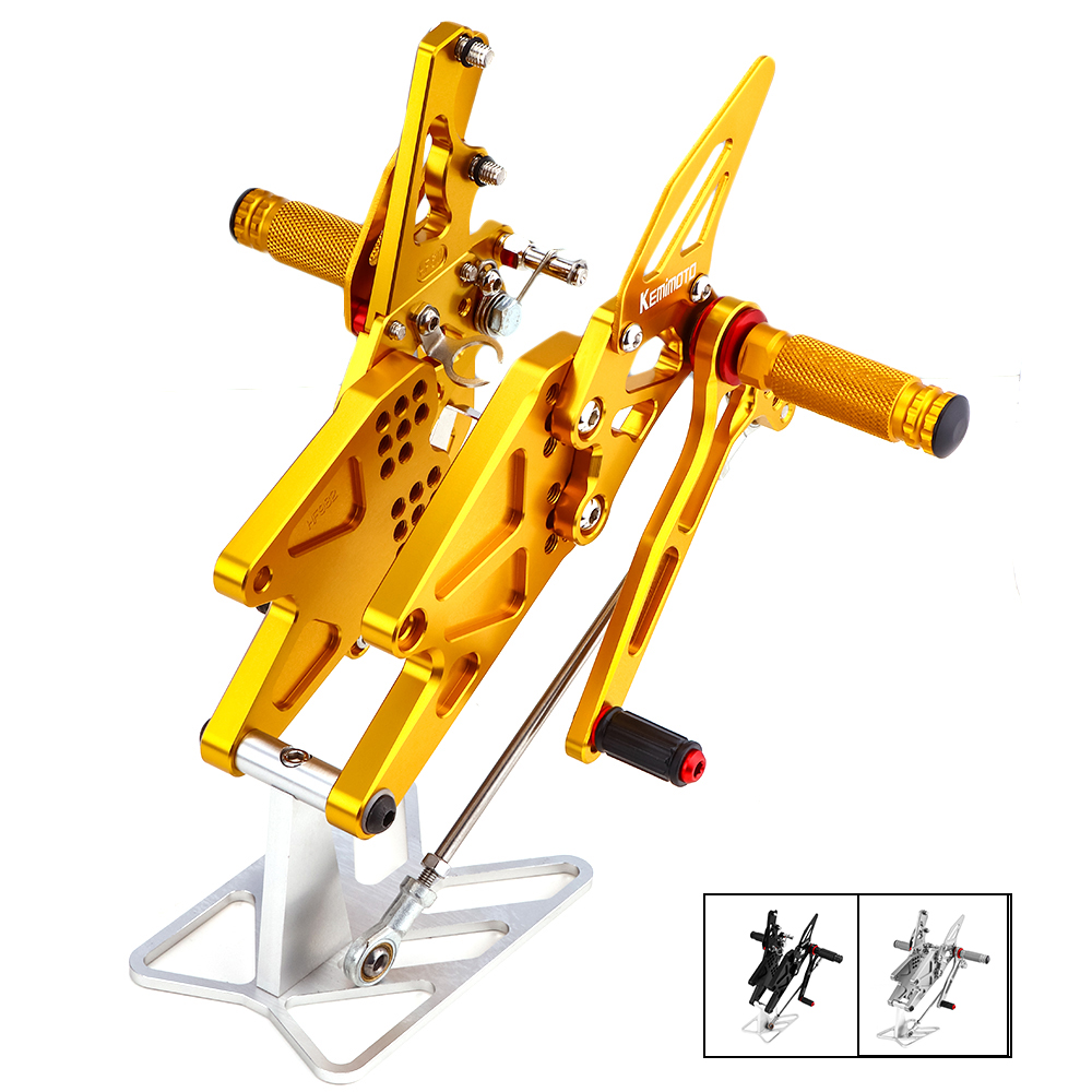 Brand New MT 03 R3 CNC Adjustable Rear Set Rearsets Footrest For Yamaha YZF R25 R3