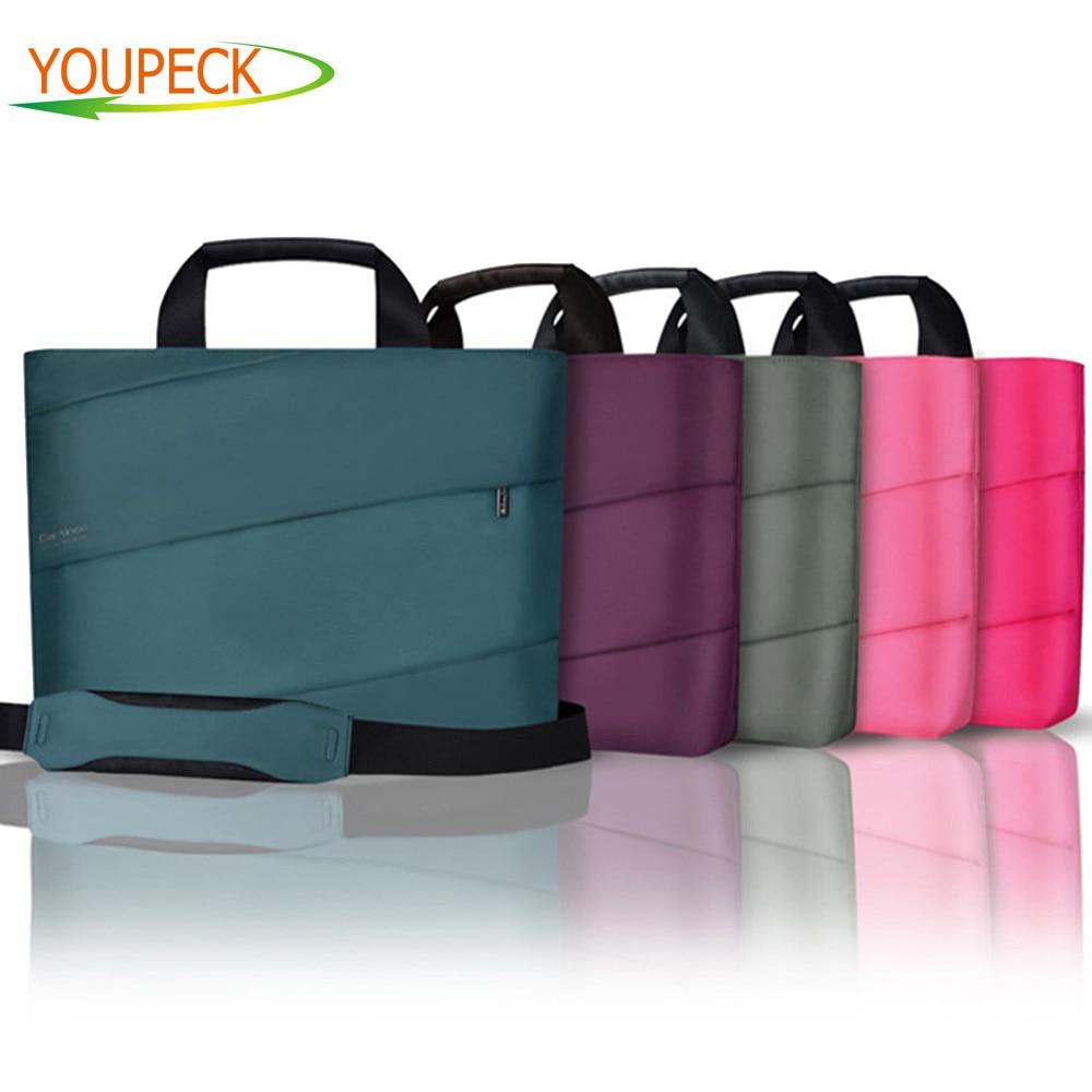 Women font b Laptop b font Tote Bag 14 15 inch Waterproof Air bag Shoulder Handbag