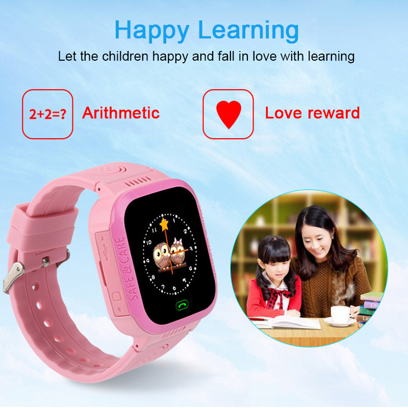 Intelligent Watch Phone Call-Sos Security Smart Baby Tracker Touch-Screen-Camera Anti-Lost