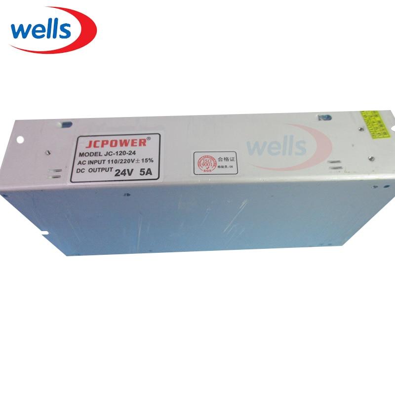 Transformer DC24V 5A 120W Switch Power Supply of AC110/240V