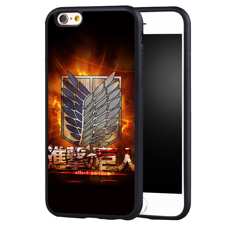 Awesome attack on titan scouting legion case cover for Samsung Galaxy s4 s5 s6 S7 edge S8 plus note 2 3 4 5