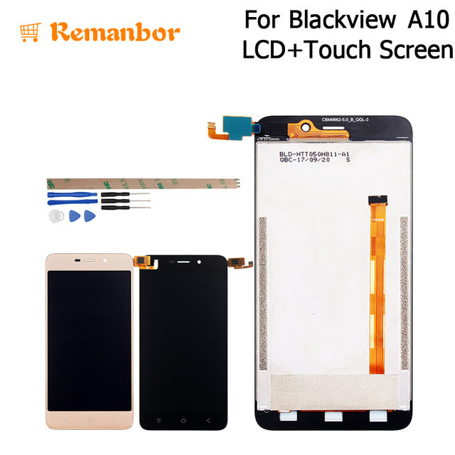 Remanbor For Blackview A10 LCD Display Touch Screen Assembly