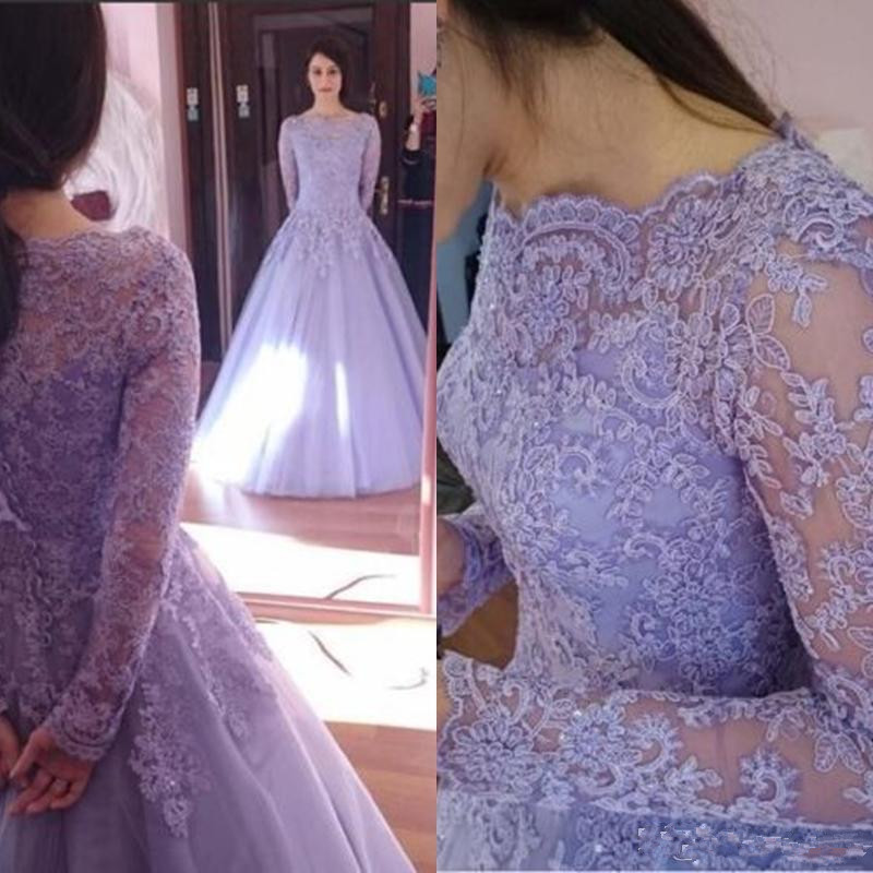 Popular Lavender Wedding Dresses-Buy Cheap Lavender