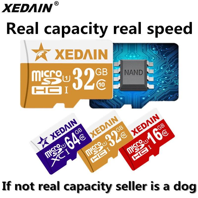 XEDAIN Micro SD Card Memory Card 16gb 32gb 64gb Class 10 Class10 Mini Micro TF mini Flash