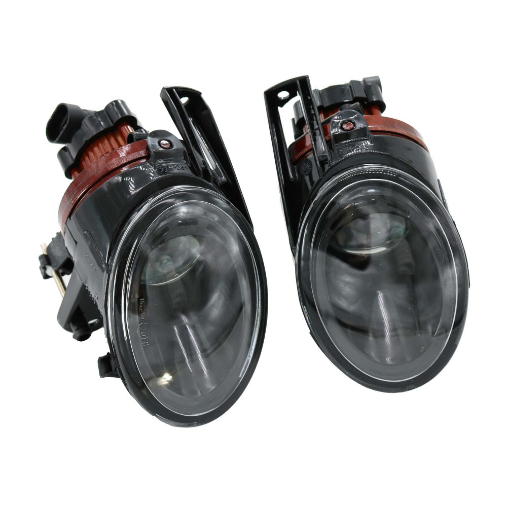 2Pcs For VW Passat B6 2006 2007 2008 2009 2010 2011 OEM Front Clean Lens Convex Fog Light Fog Lamp Car Styling car usb sd aux adapter digital music changer mp3 converter for volkswagen beetle 2009 2011 fits select oem radios