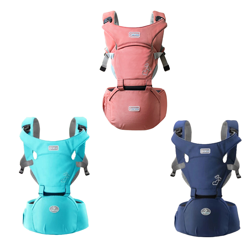 0-24 Months Ergonomic Baby Carrier Infant Front Sling Waist Stool Hands-free Shoulder Backpack Pouch Wrap Hipseat Carrier