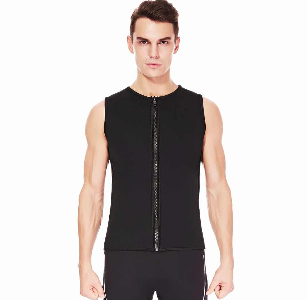 6550034aea 2mm Men's Wetsuit Vest/Pants Sleeveless Top Jacket and Long Length for  Surfing Swimming Kayaking