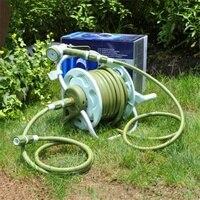Садовый шланг держатель рулона полива трубы комплект орошения товары инструменты