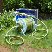 Garden Hose Reel RACK Watering Pipe Kit Irrigation Products TOOLS
