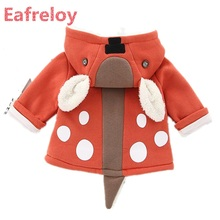 0-5Years Autumn Winter Children's Coat Boys Jackets and Coats Outwear Fashion Trend Clothing Of Girls