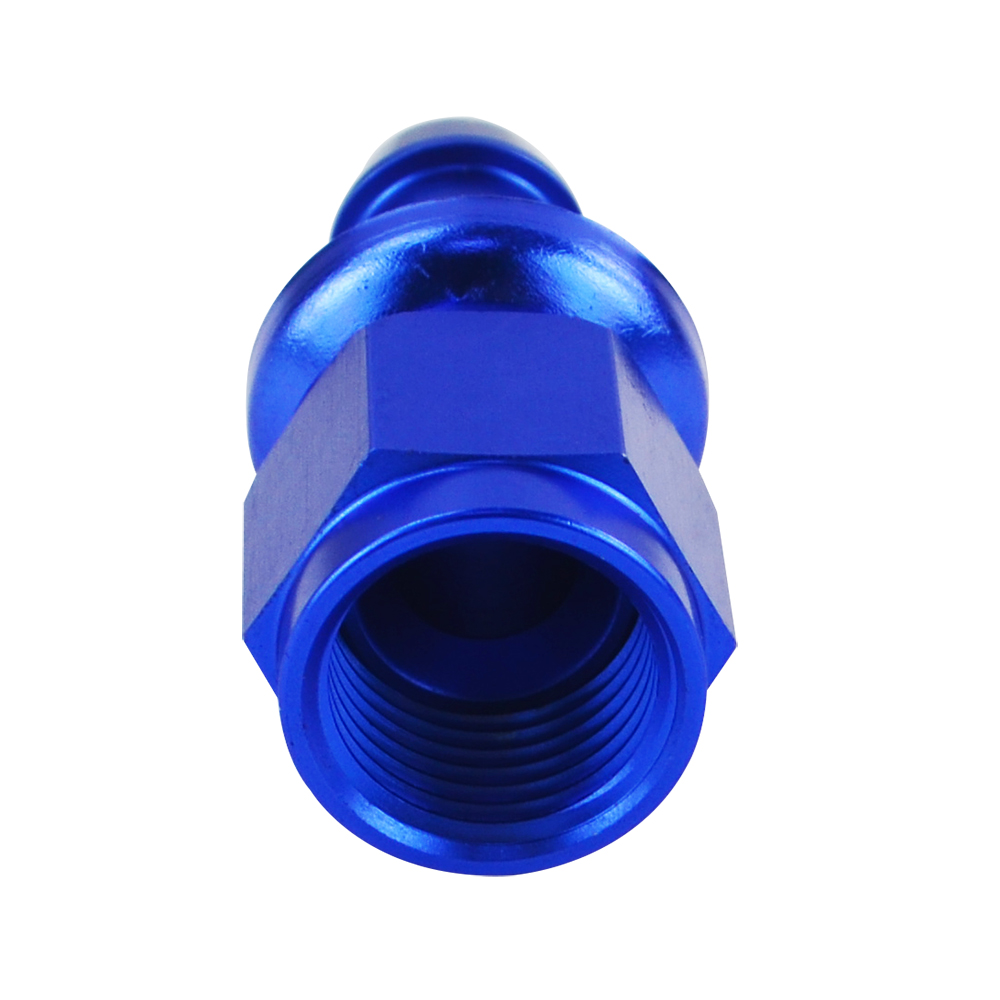 6 Straight Blue Push On Lock Socketless Hose End Fitting Adapter Wlr-sl2000-06-011 6 An Wlr Racing An6 6an An