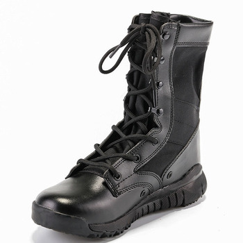 Mountain Outdoor Climbing Shoes Men Wear-resisting Non-slip Large Size Trekking Hiking Shoes Breathable Combat Boots Footwear