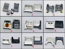 8/9/10/13pin 8 + 2/6 + 2 Molex ALPES Grande Soquete Do Cartão Do SIM conector PC Computador Portátil Tablet Painel Push-push Tipo Remendo Placa PCB FPC(China)