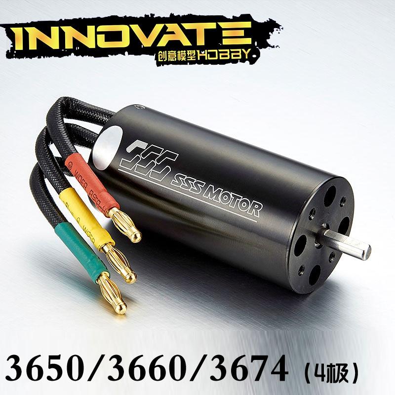 SSS 36 series 4-pole brushless inner rotor motor 3650/3660/3674 brushless motor