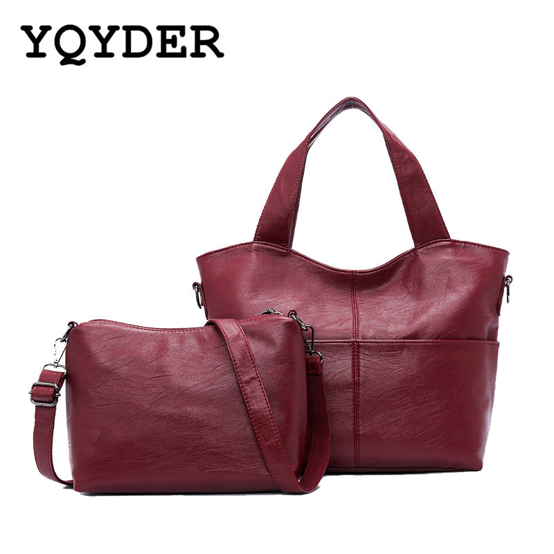 Women Genuine Leather Patchwork Bags Ladies Tote Bag Casual Hand Bag Brand Vintage Handbags Designer Messenger Shoulder Bags Sac [whorse] new casual tote patchwork designer brand women genuine leather handbags open bucket shoulder bag messenger bags w0754
