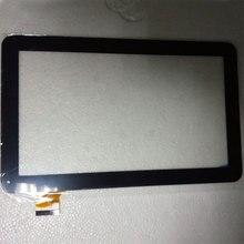 10.1 Pulgadas del 100% Nueva Pantalla Táctil WJ608-v2.0 WJ608 WJ608-v1.0 Tablet PC de Panel Táctil Digitalizador De Vidrio