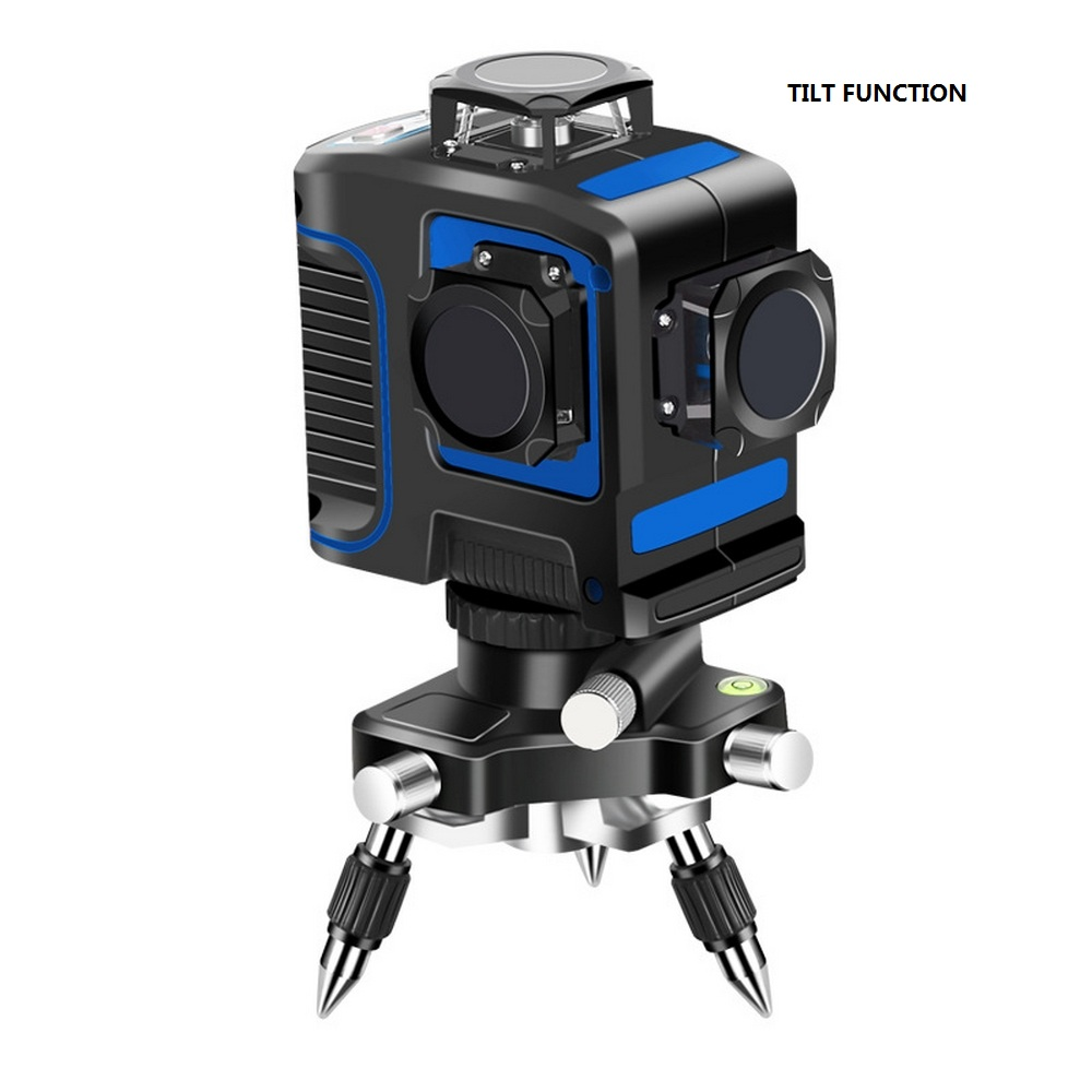 12 Lines Green Laser Level 360 Degree with 18650 Battery USB Charger 8 Laser Beam Line Horizontal Vertical Cross Super Powerful in Laser Levels from Tools