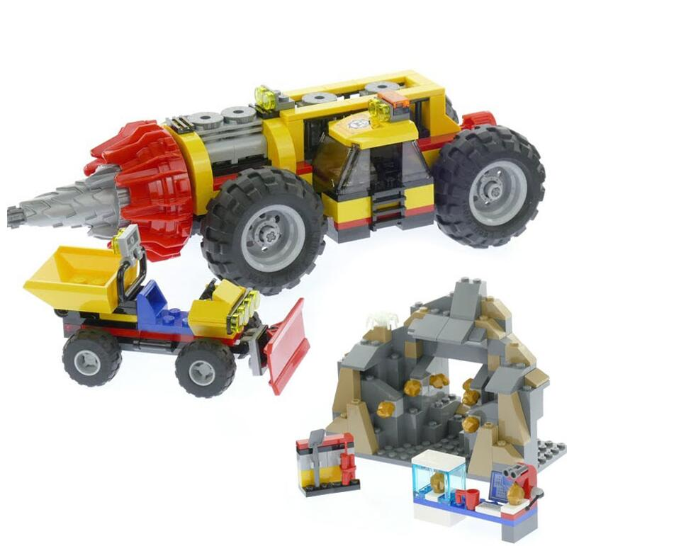 Lepin 02101 City Series The Bricks Toys 60186 Mining Heavy Driller Set Building Blocks Toys For Children ynynoo lepin 02043 stucke city series airport terminal modell bausteine set ziegel spielzeug fur kinder geschenk junge spielzeug