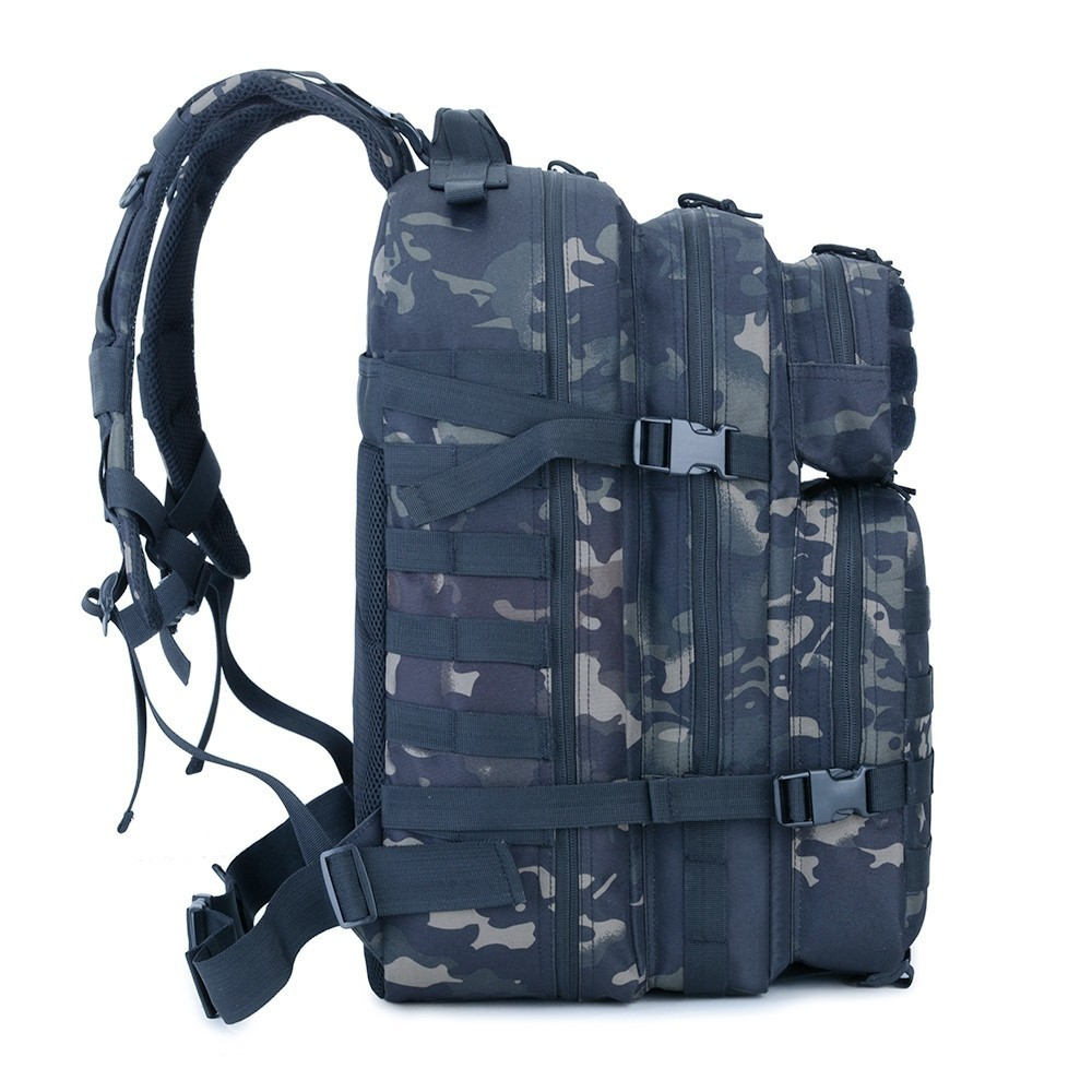 Army Tactical Backpack 45L Molle Military Bags Assault Pack Outdoor Hunting Backpacks Hiking Waterproof Camping Travel Rucksacks
