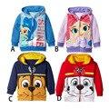 Kids hoodies children cartoon dog hoodies Outwear Girl Boys Long Sleeve Top Children Coat Sweatshirts