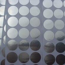 300 шт/10 листов 22 мм диаметр алюминиевая фольга для упаковывания наклейки для косметических трубок баночки фольги пленка стикер уплотнение отверстие бутылки уплотнения