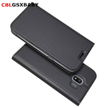 CBL Flip Leather Case For Samsung S9Plus A5 A7 J4 J7 2017 2018 PRO Book Style Stand Wallet Phone Cover For Samsung J2 J5 J7Prime