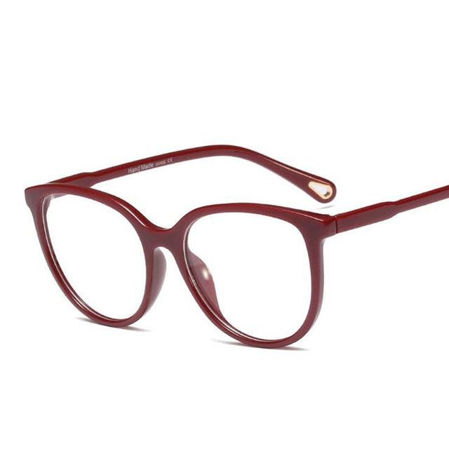 عرض ساخن على الموضة نظارات نسائية بإطار عالي الجودة نظارات طبية وصلت حديثًا نظارات بصرية