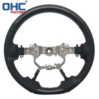 Carbon Fiber  Steering  Wheel for Toyota Land Cruiser / Land Cruiser Prado / Crown / Alpard 2016-2019