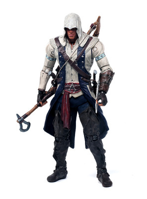 "Assassins Creed III 3 Connor PVC Action Figure Collection Model Toy 6 inch""14cm"""