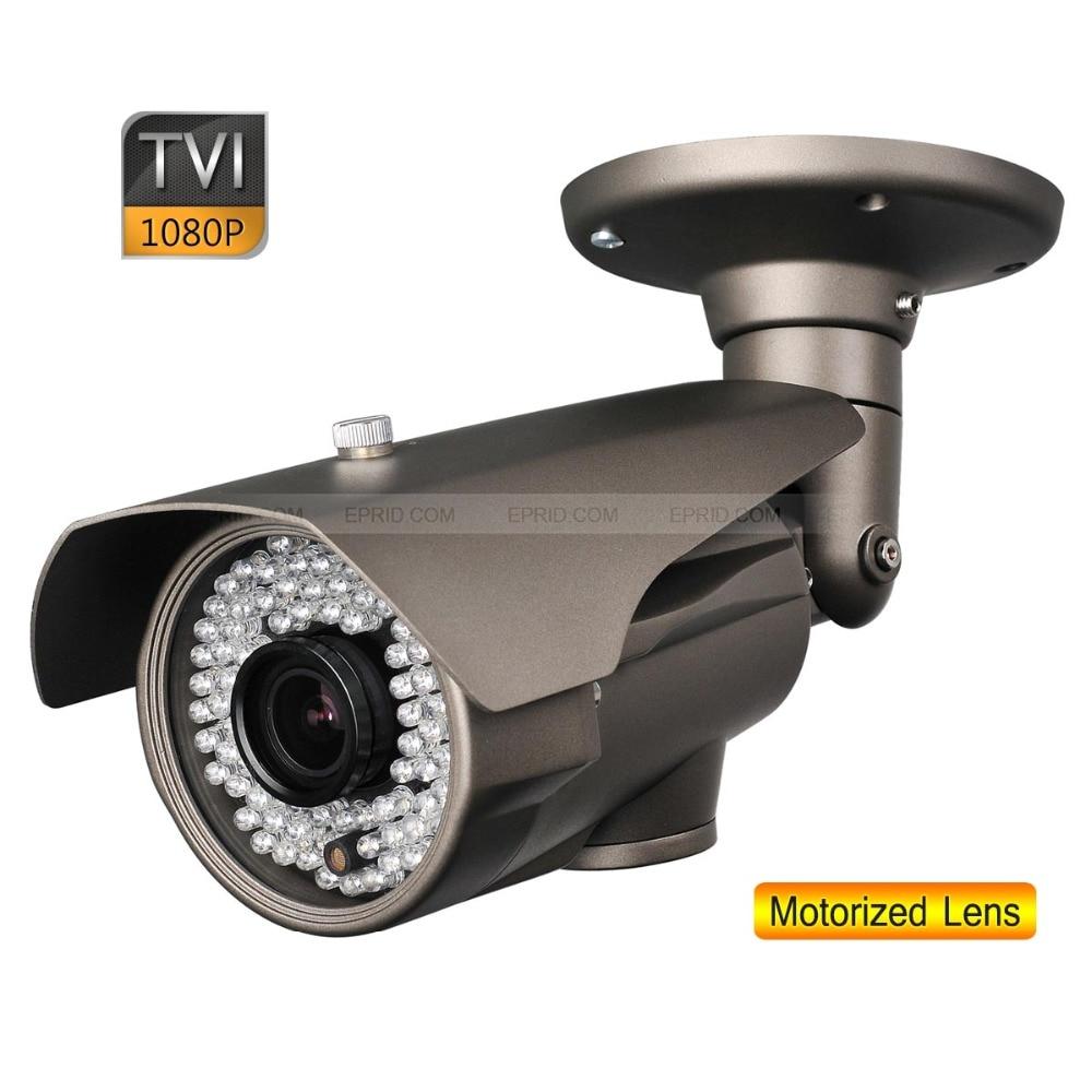 1080P 2.0MP 2.8-12mm Motorized Lens Security HD-TVI Bullet Camera OSD Board 84 IR1080P 2.0MP 2.8-12mm Motorized Lens Security HD-TVI Bullet Camera OSD Board 84 IR